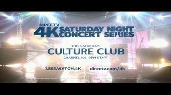 DIRECTV 4K Saturday Night Concert Series TV Spot, 'Culture Club' - Thumbnail 10