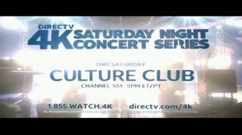 DIRECTV 4K Saturday Night Concert Series TV Spot, 'Culture Club' - Thumbnail 9