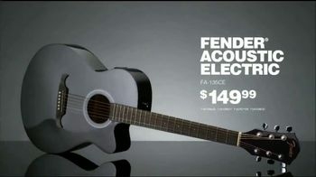 Guitar Center TV Spot, 'Holidays: Fender Acoustic Electric & Ibanez Electric' Song by The Internet - Thumbnail 4