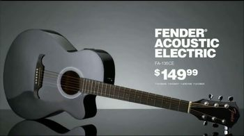 Guitar Center TV Spot, 'Holidays: Fender Acoustic Electric & Ibanez Electric' Song by The Internet - Thumbnail 5