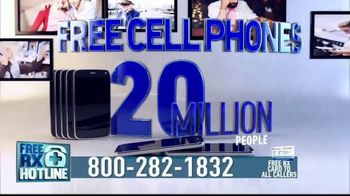 Free RX Network TV Spot, \'Free Prescriptions and Cell Phones\'