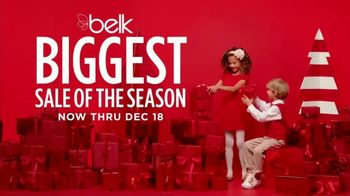 Belk Biggest Sale of the Season TV Spot, 'Bonus Buys and Lancome Gift'