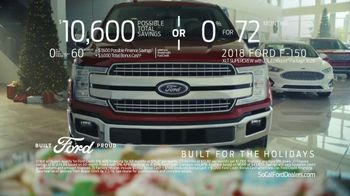 Ford Built for the Holidays Sales Event TV Spot, 'Holidays: Temptations' [T2] - Thumbnail 3
