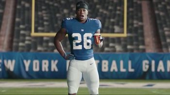 Dunkin' Donuts $2 Medium Cappuccinos and Lattes TV Spot, 'Work Hard' Featuring Saquon Barkley - Thumbnail 1