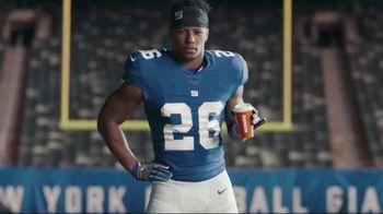 Dunkin' Donuts $2 Medium Cappuccinos and Lattes TV Spot, 'Work Hard' Featuring Saquon Barkley - Thumbnail 3
