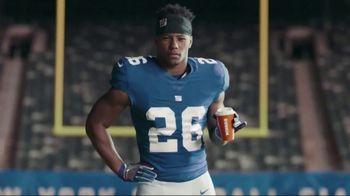Dunkin' Donuts $2 Medium Cappuccinos and Lattes TV Spot, 'Work Hard' Featuring Saquon Barkley - Thumbnail 4