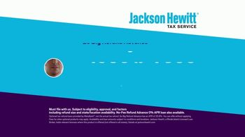 Jackson Hewitt Tax Service Go Big Refund Advance TV Spot, 'ERA Pre-Qual $7K B' - Thumbnail 10