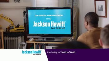 Jackson Hewitt Tax Service Go Big Refund Advance TV Spot, 'ERA Pre-Qual $7K B' - Thumbnail 2
