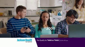 Jackson Hewitt Tax Service Go Big Refund Advance TV Spot, 'ERA Pre-Qual $7K B' - Thumbnail 9