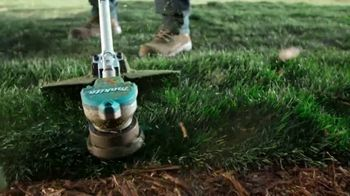 Makita TV Spot, 'Rule the Outdoors: String Trimmer and Blower' - Thumbnail 4