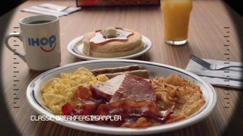 IHOP Ultimate BreakFEASTS TV Spot, 'USS Pancake: Announcements' - Thumbnail 3