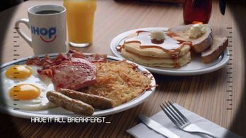 IHOP Ultimate BreakFEASTS TV Spot, 'USS Pancake: Announcements' - Thumbnail 5