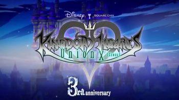 Kingdom Hearts Union X TV Spot, 'Third Anniversary: Battle the Darkness' - Thumbnail 1
