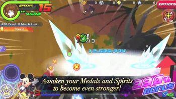 Kingdom Hearts Union X TV Spot, 'Third Anniversary: Battle the Darkness' - Thumbnail 3