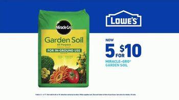 Lowe's Spring Black Friday Sale TV Spot, 'Spring: Garden Soil' - Thumbnail 9