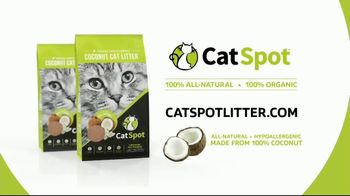 CatSpot Coconut Cat Litter TV Spot, 'Love the Planet, Love Your Cat' - Thumbnail 8