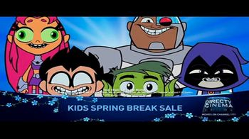 DIRECTV Cinema Kids Spring Break Sale TV Spot, 'The Movies Kids Want' - Thumbnail 8