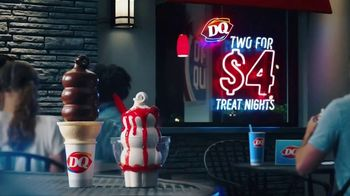 Dairy Queen Two for $4 Treat Nights TV Spot, 'Take the Fam'