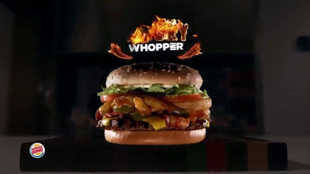 Burger King Angry Whopper TV Commercial, 'Warning' - Video