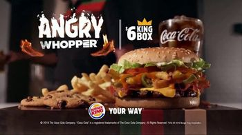Burger King Angry Whopper TV Spot, 'Warning' - Thumbnail 10
