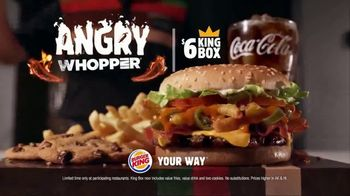 Burger King Angry Whopper TV Spot, 'Warning' - Thumbnail 9