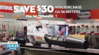 STIHL Dealer Days TV Spot, 'Real Help: FSA 56 Trimmer' - Thumbnail 8