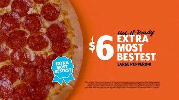 Little Caesars EXTRAMOSTBESTEST Pizza TV Spot, 'Ridiculous' - Thumbnail 10