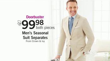Belk Easter Sale TV Spot, 'Dresswear, Dress Shoes & Seasonal Suits' - Thumbnail 5