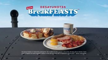 IHOP Ultimate BreakFEASTS TV Spot, 'Submarino USS Pancake' [Spanish] - Thumbnail 10