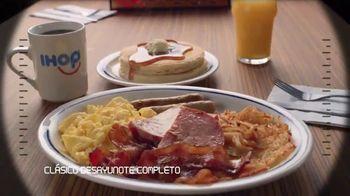 IHOP Ultimate BreakFEASTS TV Spot, 'Submarino USS Pancake' [Spanish] - Thumbnail 3