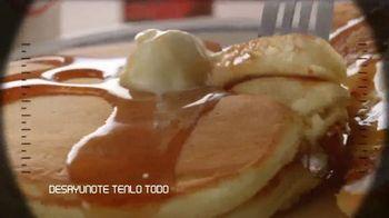 IHOP Ultimate BreakFEASTS TV Spot, 'Submarino USS Pancake' [Spanish] - Thumbnail 6