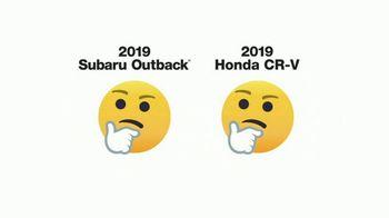2019 Subaru Outback TV Spot, 'Emojis' [T1] - Thumbnail 1