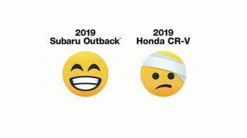 2019 Subaru Outback TV Spot, 'Emojis' [T1] - Thumbnail 3