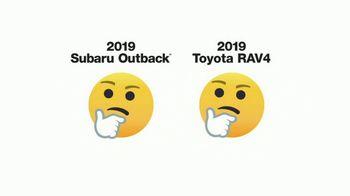 2019 Subaru Outback TV Spot, 'Emojis' [T1] - Thumbnail 4