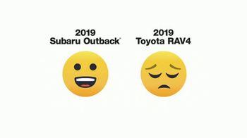 2019 Subaru Outback TV Spot, 'Emojis' [T1] - Thumbnail 6