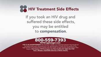 Sokolove Law TV Spot, 'HIV Treatment Side Effects' - Thumbnail 4
