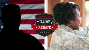 Toyota Military Rebate TV Spot, 'Retired Military' [T2] - Thumbnail 1