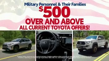Toyota Military Rebate TV Spot, 'Retired Military' [T2] - Thumbnail 3