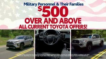 Toyota Military Rebate TV Spot, 'Retired Military' [T2] - Thumbnail 4