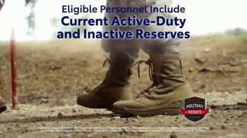 Toyota Military Rebate TV Spot, 'Retired Military' [T2] - Thumbnail 5