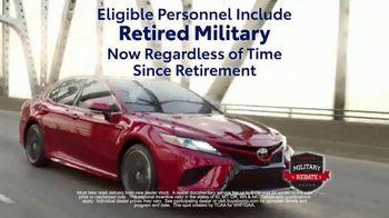 Toyota Military Rebate TV Spot, 'Retired Military' [T2] - Thumbnail 8