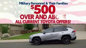 Toyota Military Rebate TV Spot, 'Retired Military' [T2] - Thumbnail 9