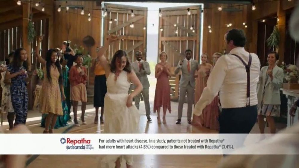 Repatha TV Commercial, 'Father of the Bride' Song by K.C. and Sunshine Band