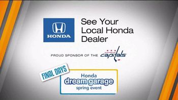 Honda Dream Garage Spring Event TV Spot, 'Final Days' [T2] - Thumbnail 9