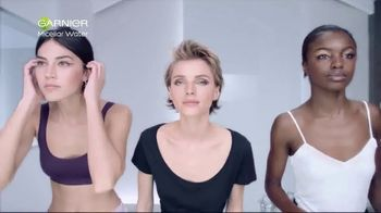 Garnier SkinActive Micellar Water TV Spot, 'Is Your Cleanser Cleansing?' - Thumbnail 1