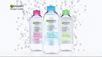 Garnier SkinActive Micellar Water TV Spot, 'Is Your Cleanser Cleansing?'