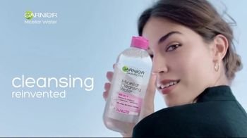Garnier SkinActive Micellar Water TV Spot, 'Is Your Cleanser Cleansing?' - Thumbnail 8