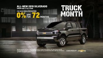 Chevrolet Truck Month TV Spot, 'Official Truck of Real People' [T2] - Thumbnail 7