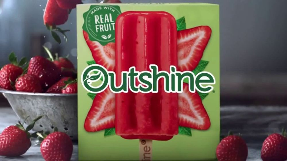 Outshine TV Commercial, 'Fruta que es fruta'