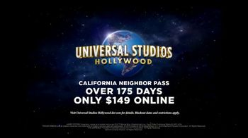 Universal Studios Hollywood California Neighbor Pass TV Spot, 'Ultimate Movie Experience' - Thumbnail 8